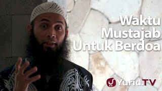 getlinkyoutube.com-Ceramah Singkat : Waktu Mustajab Untuk Berdoa - Ustadz Syafiq Riza Basalamah