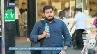 São Paulo fica em estado de alerta devido a clima seco