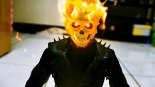 getlinkyoutube.com-Ghost Rider and Resident Evil stop motion - Breath from Hell 惡靈戰警