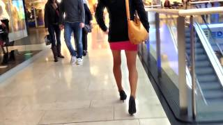 getlinkyoutube.com-Alexamuc+Loreley on shoppingtour in sexy outfit