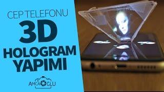 getlinkyoutube.com-Cep Telefonları İçin Hologram Piramit Yapımı (Kendin Yap)