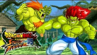 getlinkyoutube.com-Blanka meets Bojak - Comic and MUGEN fight!!! - Dragon Ball vs Street Fighter III by Dbzsupakid