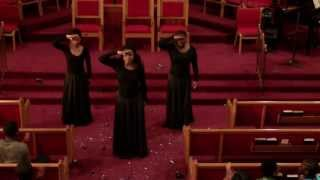 "getlinkyoutube.com-""Break Every Chain"" Praise Dance by Anointed Dancers of Ebenezer Baptist Church"