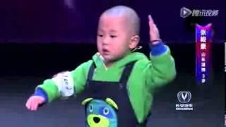 getlinkyoutube.com-Zhang, el chino de 3 años que ha revolucionado un programa de talentos