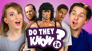 getlinkyoutube.com-DO COLLEGE KIDS KNOW 80s ACTION MOVIES? (REACT: Do They Know It?)