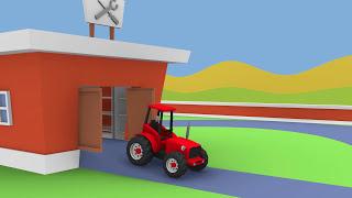 getlinkyoutube.com-Fairy Tractors Compilation for Children | Bajki traktory kompilacja dla dzieci