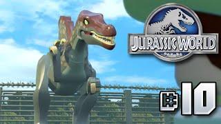 getlinkyoutube.com-FULL JURASSIC PARK 3 SEGMENT!! Jurassic World LEGO Game - Ep10