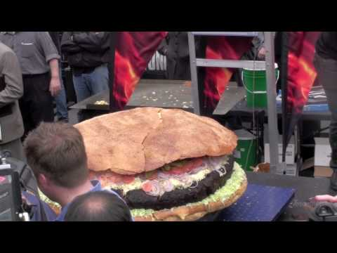 World's Biggest Hamburger