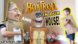 getlinkyoutube.com-There's a BOXTROLL in our House!  (FGTEEV GAMEPLAY / SKIT with BOXTROLLS iOS Game)