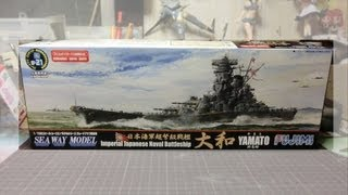 getlinkyoutube.com-【戦艦プラモ作るよ】フジミ1/700 戦艦大和の作ってみた