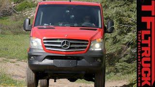 getlinkyoutube.com-2015 Mercedes-Benz Sprinter 4X4 Van Off & On-Road Review