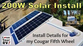getlinkyoutube.com-Installing a Renogy 200W Solar Kit on my RV