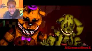 "getlinkyoutube.com-[FNAF SFM] ""Salvaged"" REACTION 