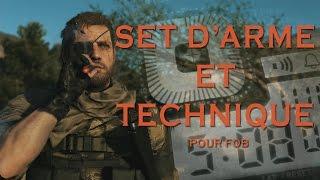 getlinkyoutube.com-MGS5 : Set d'arme + Technique de gameplay FR