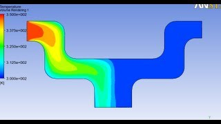 getlinkyoutube.com-Hot and cold water mixing in ANSYS Fluent