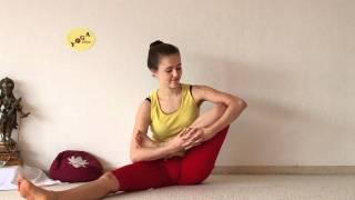 getlinkyoutube.com-Developing Lotus Flexibility - Preparing Yoga Padmasana Sitting Position