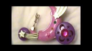 getlinkyoutube.com-Collection Earth: 1995-1997 Sailor Moon Moon Cycle (Toon Makers Saban Moon Toy)