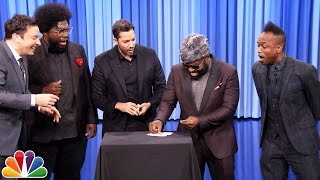 getlinkyoutube.com-David Blaine Shocks Jimmy and The Roots with Magic Tricks
