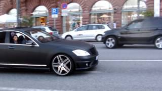 getlinkyoutube.com-Mercedes S 500 (revs), CLS 63 AMG, M5 F10