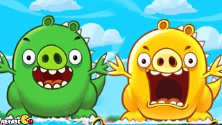 getlinkyoutube.com-Angry Birds Fight! - NEW WESTEN ISLAND SUPER KAIJUU PIG MONSTER iOS/iPad
