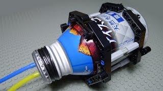 getlinkyoutube.com-LEGO Pneumatic Air Tank DIY by Aluminium Bottle