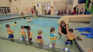 getlinkyoutube.com-Preschool swim class @ YMCA - Pike
