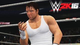 getlinkyoutube.com-WWE 2K16 - X360 PS3 Gameplay (XBOX 360 720P) Dean Ambrose vs Rusev