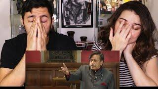 getlinkyoutube.com-Dr Shashi Tharoor MP - Britain Does Owe Reparations REACTION
