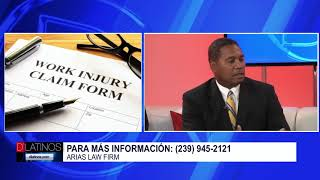 ¿Sufrió un accidente en el trabajo? El abogado Víctor Arias le dice que hacer