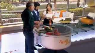 getlinkyoutube.com-علي جابر يقطّع سلطته المفضلة في صباح العربية