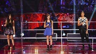 getlinkyoutube.com-Maddison, Kayla Jo and Malia Sing Diamonds | The Voice Kids Australia 2014