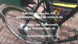 getlinkyoutube.com-Elektrofahradumbausatz in der Praxis
