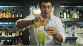 getlinkyoutube.com-カクテルレシピ|ミドリリキュール使用 ミドリスプライスの作り方