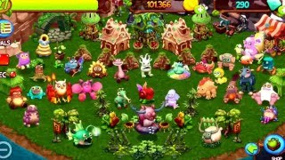 getlinkyoutube.com-MY SINGING MONSTERS DAWN OF FIRE UPDATED FULL CONTINENT ISLAND SONG!!! Best quality!!!