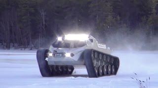 getlinkyoutube.com-Howe & Howe Technologies - Ripsaw EV 2 Ground Vehicle Testing [720p]