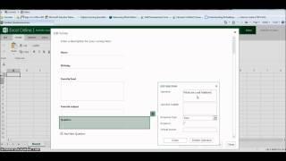 getlinkyoutube.com-How to Create a Survey using Excel Survey