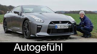 getlinkyoutube.com-Autobahn Godzilla: Nissan GT-R FULL REVIEW test driven Facelift 570 hp Launch Control Acceleration