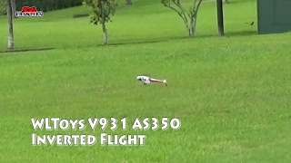 getlinkyoutube.com-WLToys V931 AS350 Collective Pitch Scale 3D RC Helicopter (Ready to Fly) trying out inverted flight