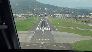 getlinkyoutube.com-Embraer EMB 135BJ Legacy Landing at Florence (Cockpit View)