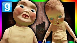 getlinkyoutube.com-CREEPY DEMON BABIES ATTACK!!!   Gmod Murder Maze Challenge