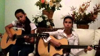 getlinkyoutube.com-Lorena e Rafaela, musica grão de areia, autor Goiá