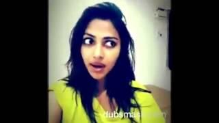 getlinkyoutube.com-Tamil celebrities dubsmash  vijay sethupathy  amala paul shruthi hassan bindhu madhavi #aadharva