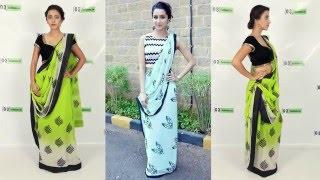 getlinkyoutube.com-How to Wear Bollywood Saree like Shraddha Kapoor