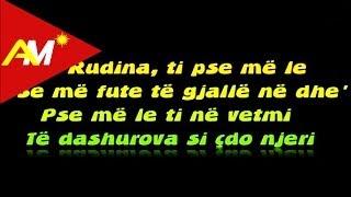 Andi Shkoza   Rudina (Official Lyrics Video)