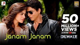 Janam Janam – Dilwale | Shah Rukh Khan | Kajol | Pritam | SRK Kajol Official New Song Video 2015