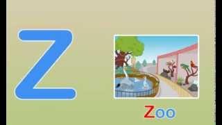 getlinkyoutube.com-Toddler Words   Words Starting With Z