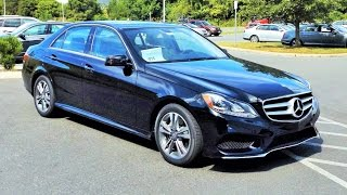 getlinkyoutube.com-2016 Mercedes Benz E250 E-Class BlueTEC 4MATIC Twin Turbo Diesel Start Up, Review and Tour