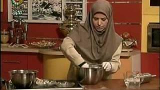 getlinkyoutube.com-sherani Zaban 1طرز تهیه شیرینی زبان با خمیر هزار لا قسمت اول