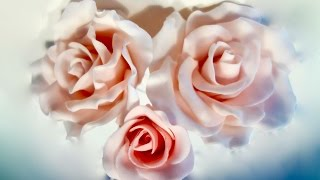 getlinkyoutube.com-HOW TO MAKE FONDANT ROSES FOR STUNNING LOOKING CAKES