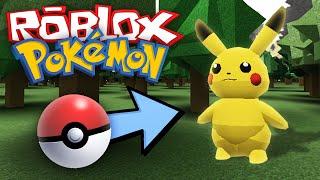 getlinkyoutube.com-Roblox Adventures / Project: Pokemon / Lets Go Play With Pokemon!